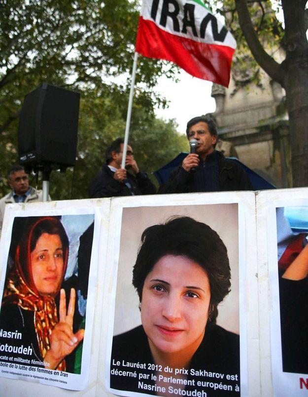 Iran : libération provisoire de la militante Nasrin Sotoudeh