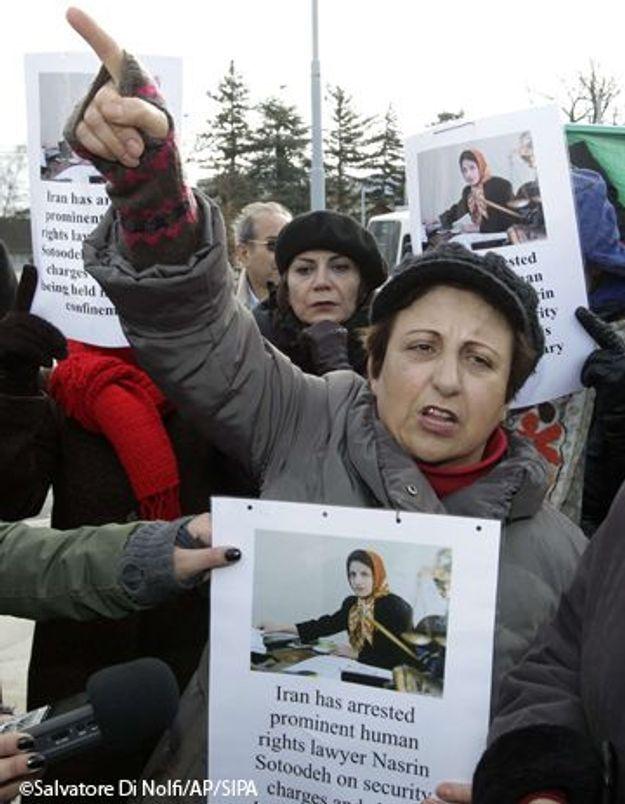 Iran : une militante des droits de l'homme derrière les barreaux