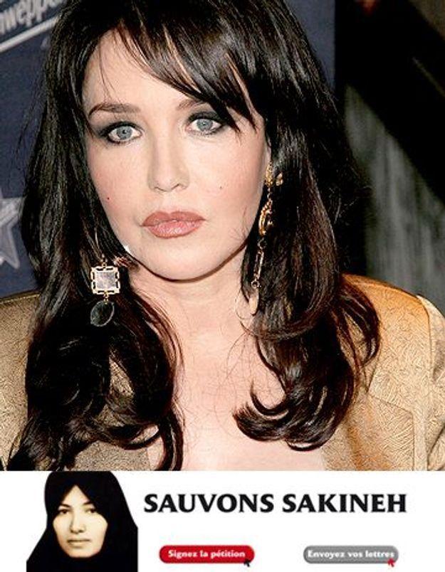 Isabelle Adjani s'engage contre la lapidation de Sakineh
