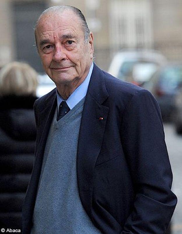 Jacques Chirac condamné à 2 ans de prison avec sursis