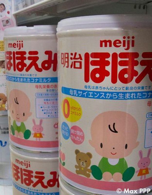 Japon : des traces de radioactivité dans un lait en poudre