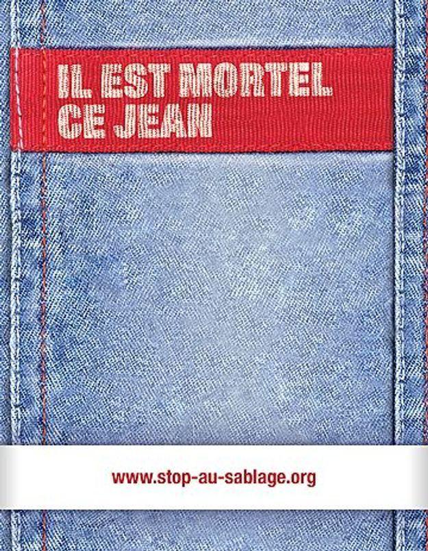 Jeans délavés : une fabrication mortelle