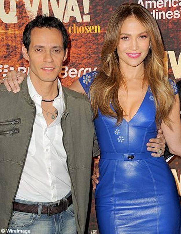 Jennifer Lopez et Marc Anthony s'affichent main dans la main