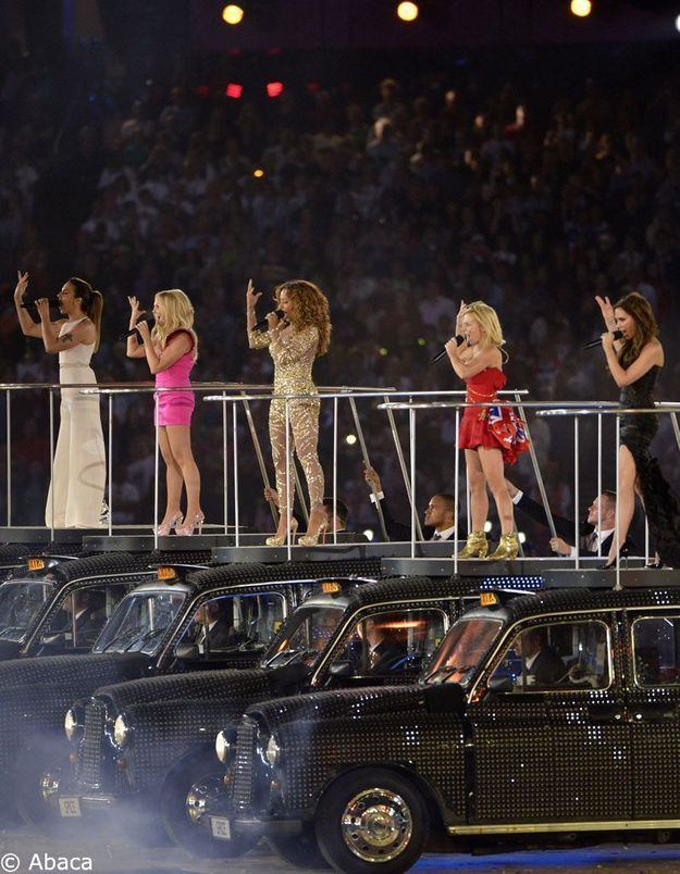 JO 2012 : clap de fin avec les Spice Girls, Muse et the Who