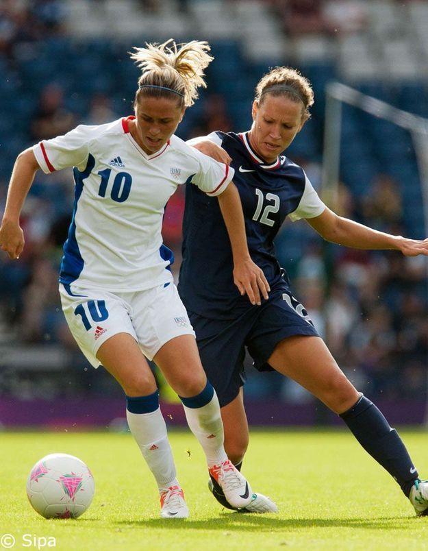 JO 2012 : les Bleues perdent leur 1er match face aux Etats-Unis