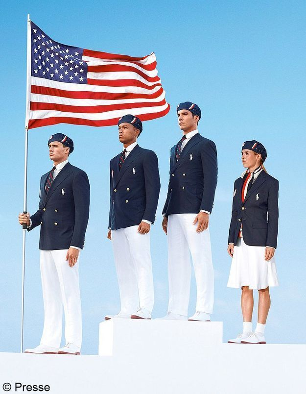 JO : les tenues de la délégation américaine créent la polémique