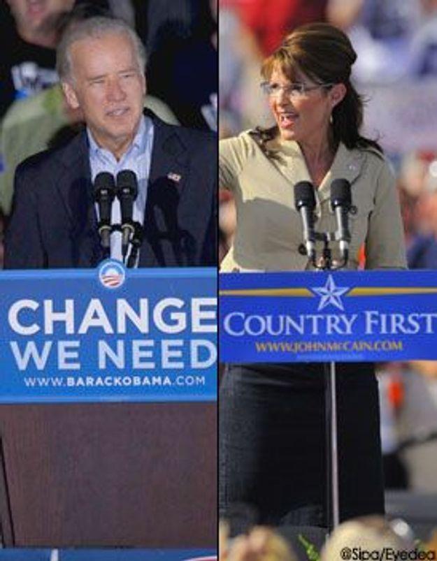 Joe Biden / Sarah Palin : le duel
