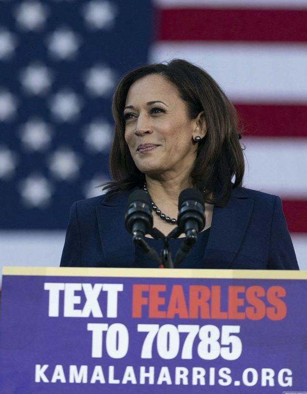 Kamala Harris, future vice-présidente des États-Unis ? ELLE était à son premier meeting