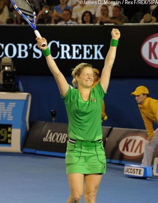 Kim Clijsters remporte l'Open d'Australie