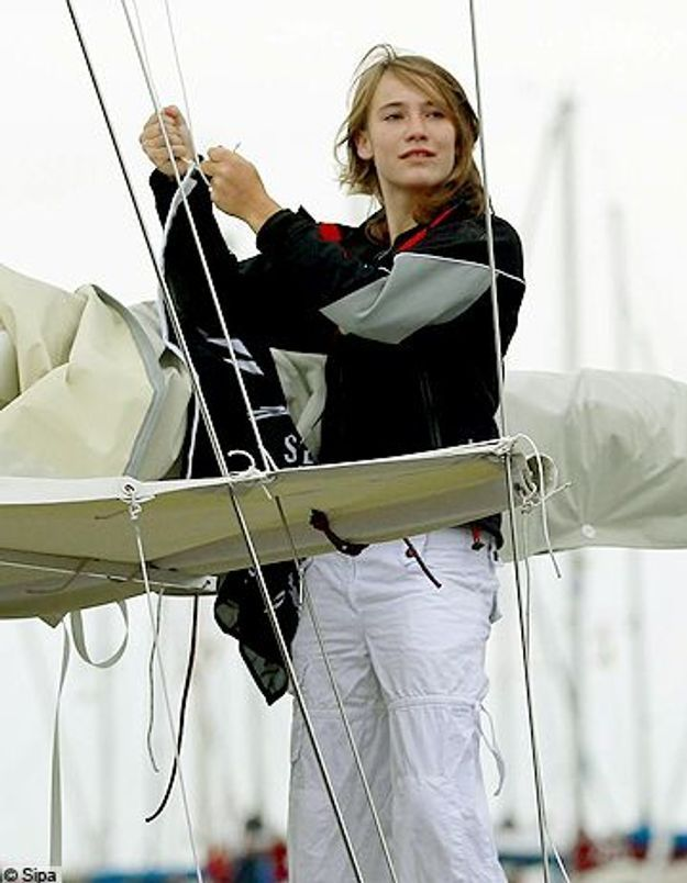 L'ado navigatrice est partie pour son tour du monde