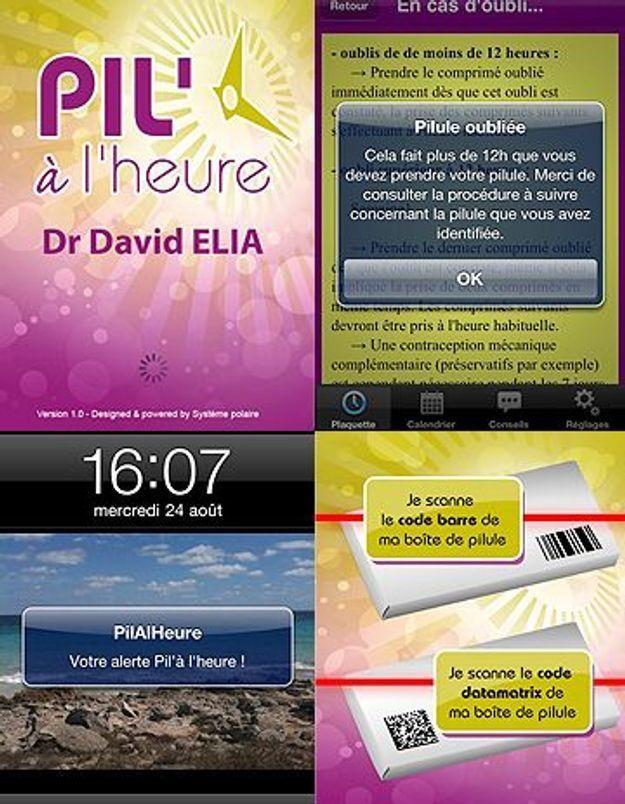 L'appli « Pil'à l'heure » pour ne plus oublier sa pilule