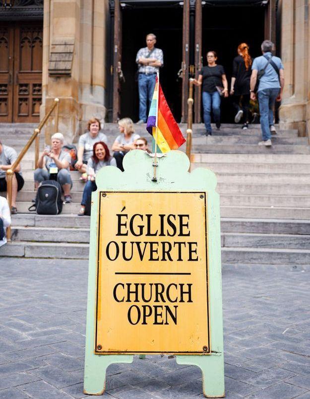 L'Église Protestante a fêté son premier mariage entre pasteures lesbiennes
