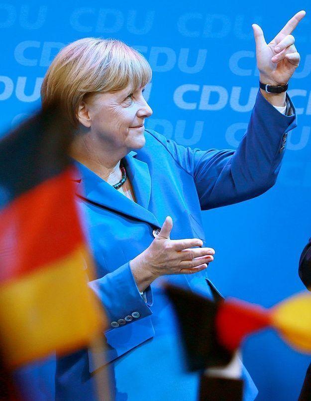 L'UMP célèbre la victoire de Merkel sur Twitter