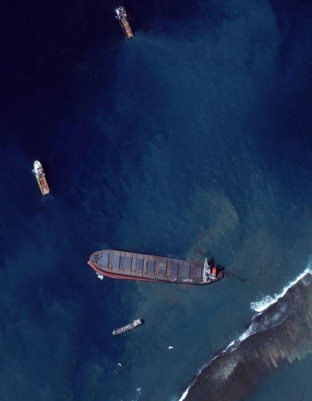 La fondation de Greta Thunberg fait un don à l'île Maurice pour lutter contre la marée noire