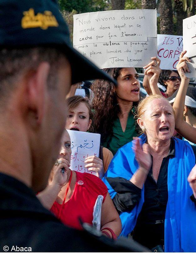 La France apporte son soutien à la Tunisienne violée