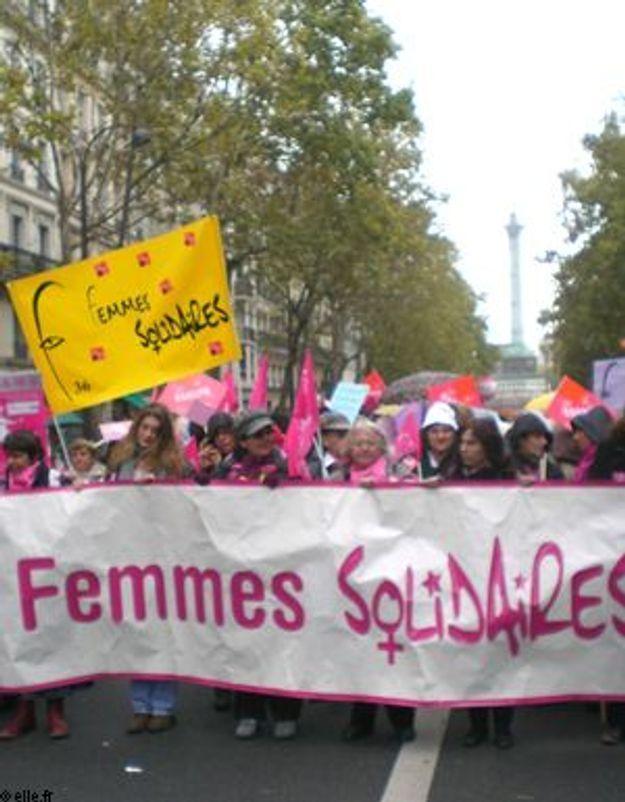 La nouvelle génération féministe manifeste à Paris