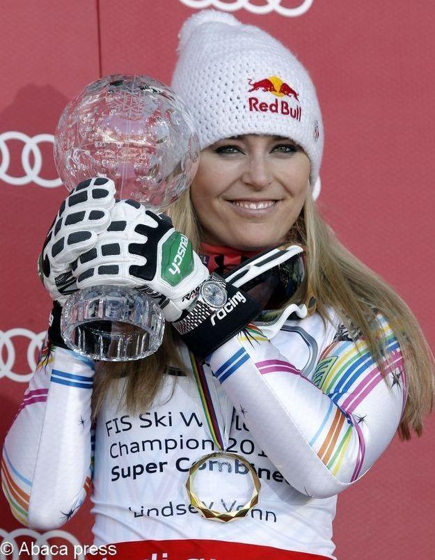 La skieuse Lindsey Vonn veut se mesurer aux hommes
