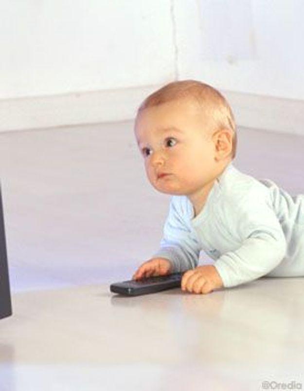 La TV : un danger pour les enfants de moins de 3 ans