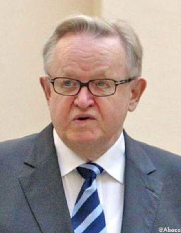 Le Finlandais Martti Ahtisaari Nobel de la paix