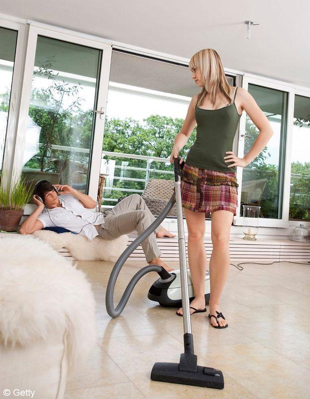 Le travail domestique toujours réservé aux femmes