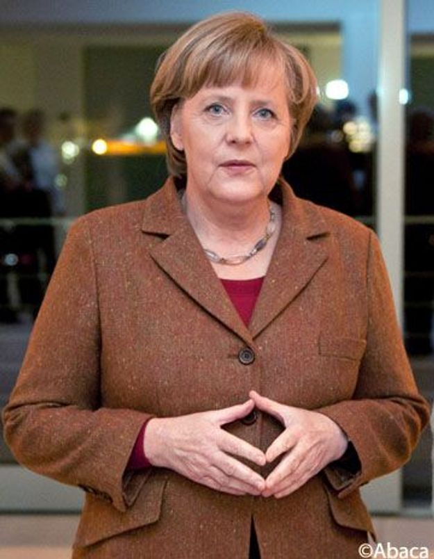 Les conseils mode de Karl Lagerfeld à Angela Merkel