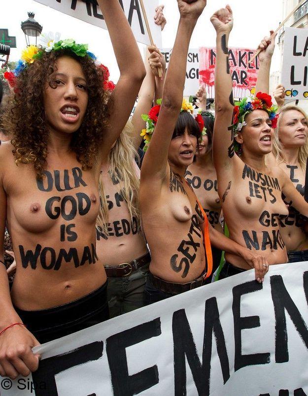 Les Femen prêtes à affronter l'année 2013