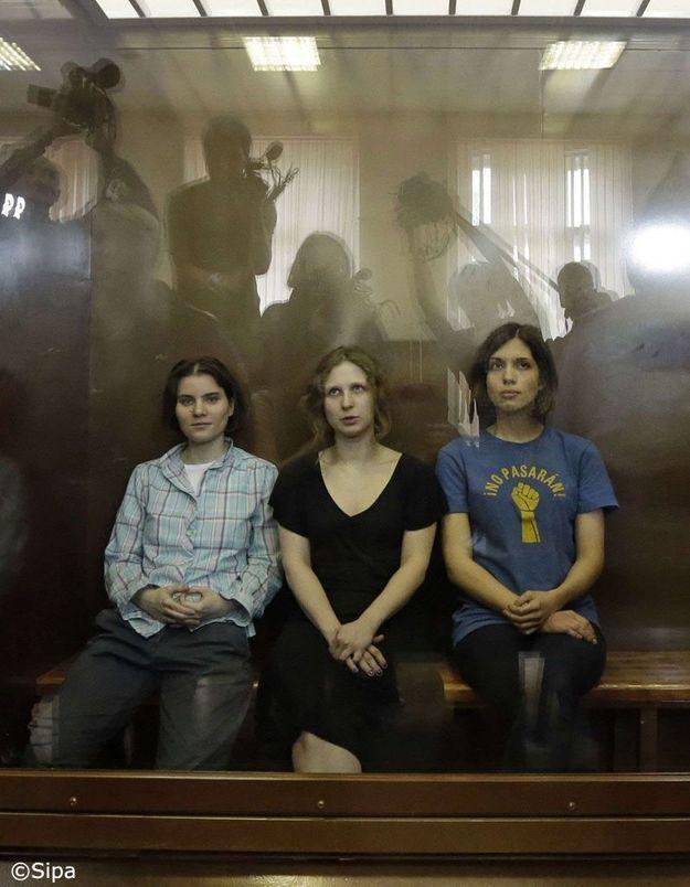 Les « Pussy Riot » condamnées à deux ans de camp