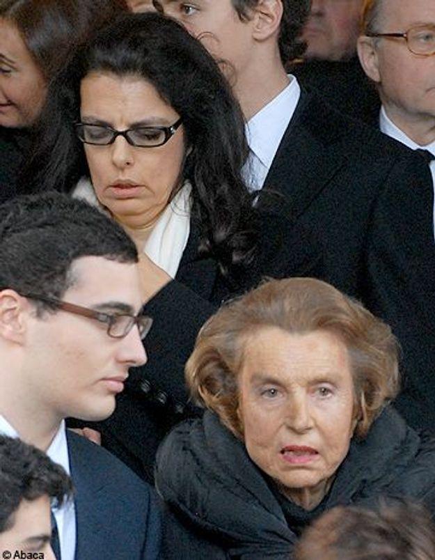 Liliane Bettencourt, scandalisée par la requête de sa fille