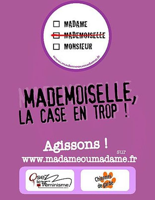 «Mademoiselle», la case de trop?