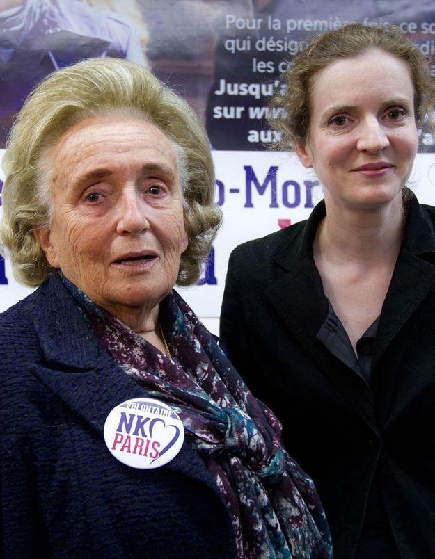 Mairie de Paris : Bernadette Chirac croit en NKM