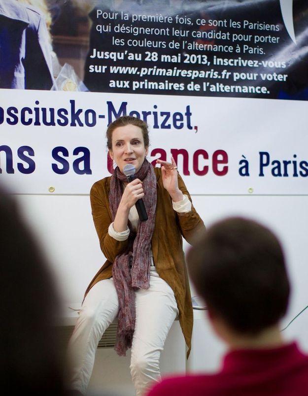 Mairie de Paris : NKM se lance dans le porte à porte