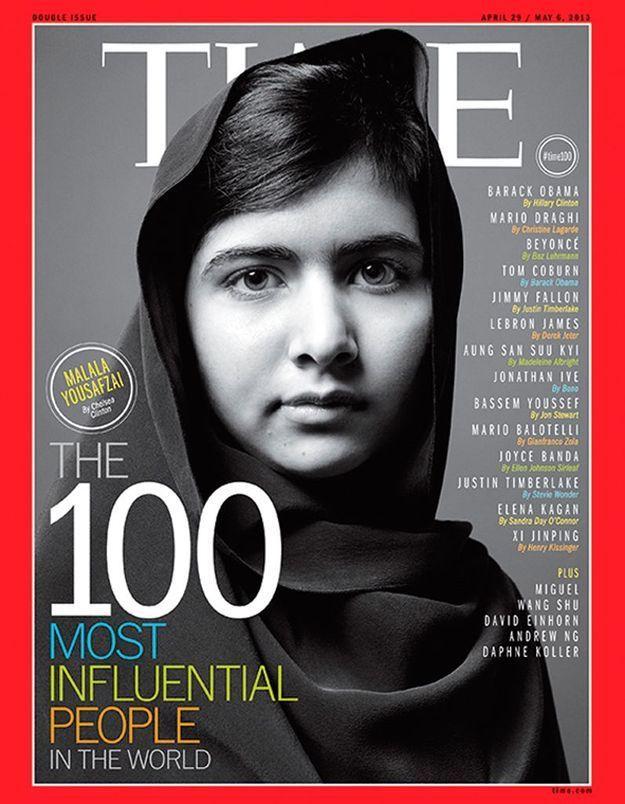 Malala parmi les personnalités les plus influentes du « Time »