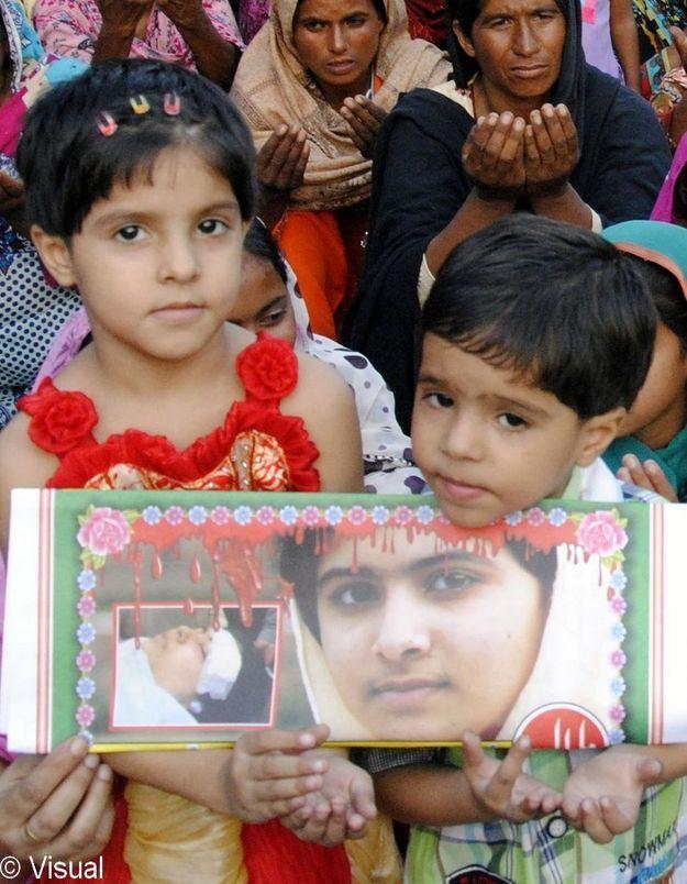 Malala reçoit le prix Simone de Beauvoir