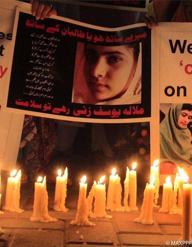 Malala transférée en Angleterre pour être soignée