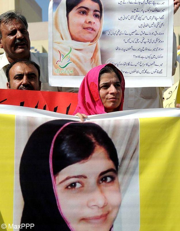 Malala Yousafzai : son état de santé s'améliore