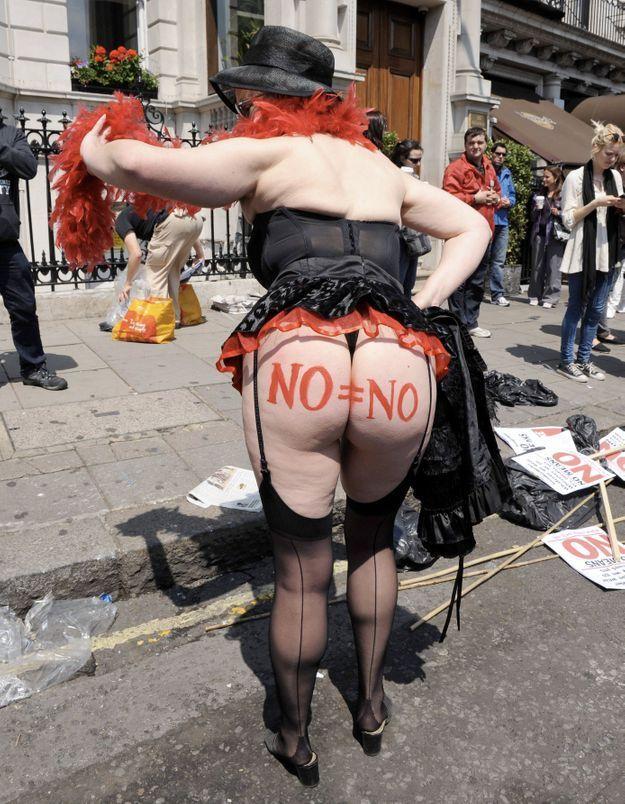 Marche des salopes à Londres : « Nous sommes toutes des femmes de chambre »