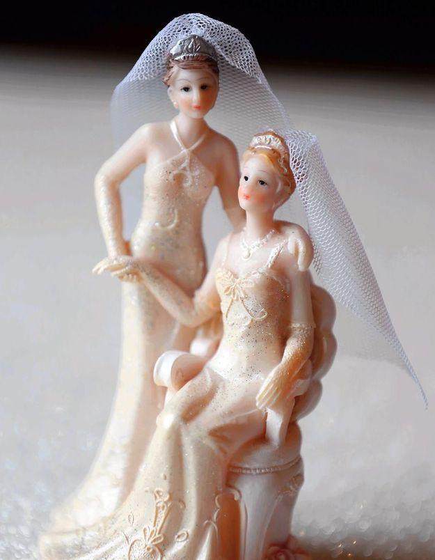 Mariage gay : Hélène et Abby se sont dit « oui »