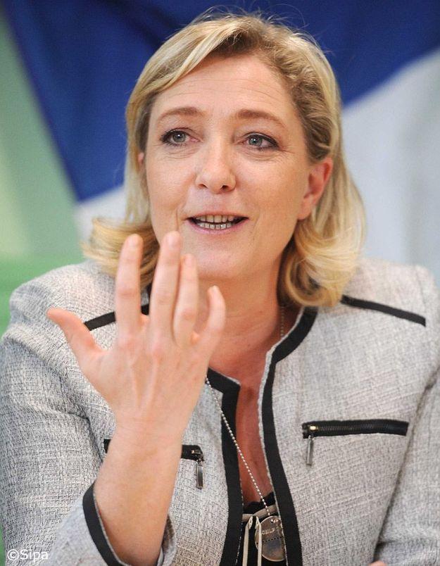 Marine Le Pen courtise les électeurs de l'UMP