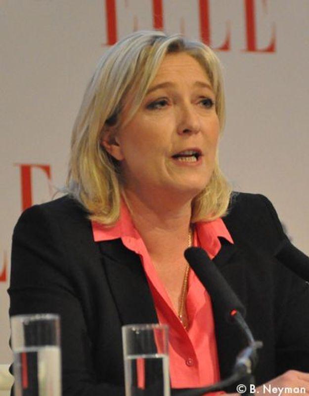 Marine le Pen : les femmes ne sont pas « une espèce à protéger »