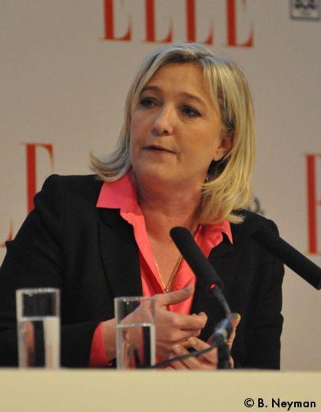 Marine Le Pen : « Oui à l'IVG, non à celles qui en abusent ! »