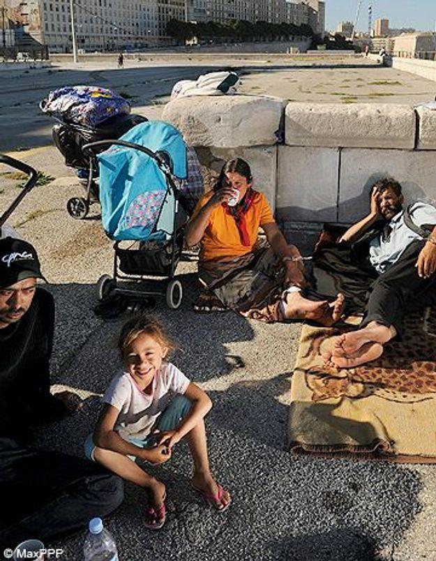 Marseille : une centaine de Roms dont 30 enfants délogés