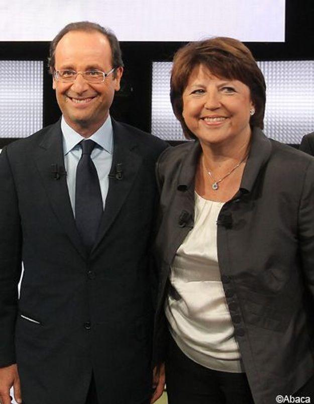Martine Aubry et François Hollande : le face à face