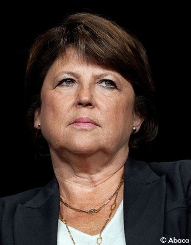 Martine Aubry refuse de s'imaginer Premier ministre