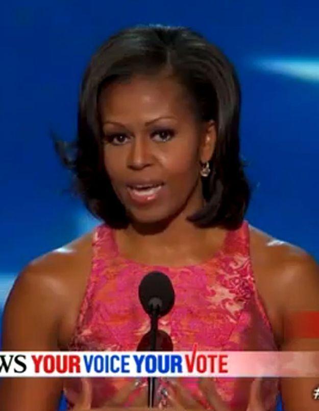 Michelle Obama, grande star de la convention démocrate