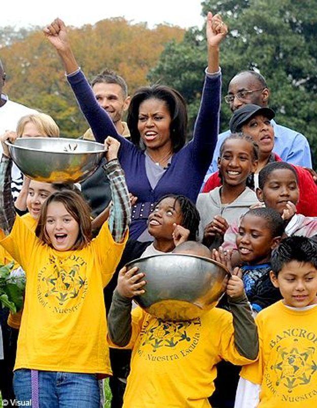 Michelle Obama : son programme contre l'obésité des jeunes