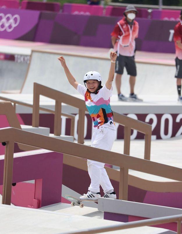 Momiji Nishiya, 13 ans et championne olympique