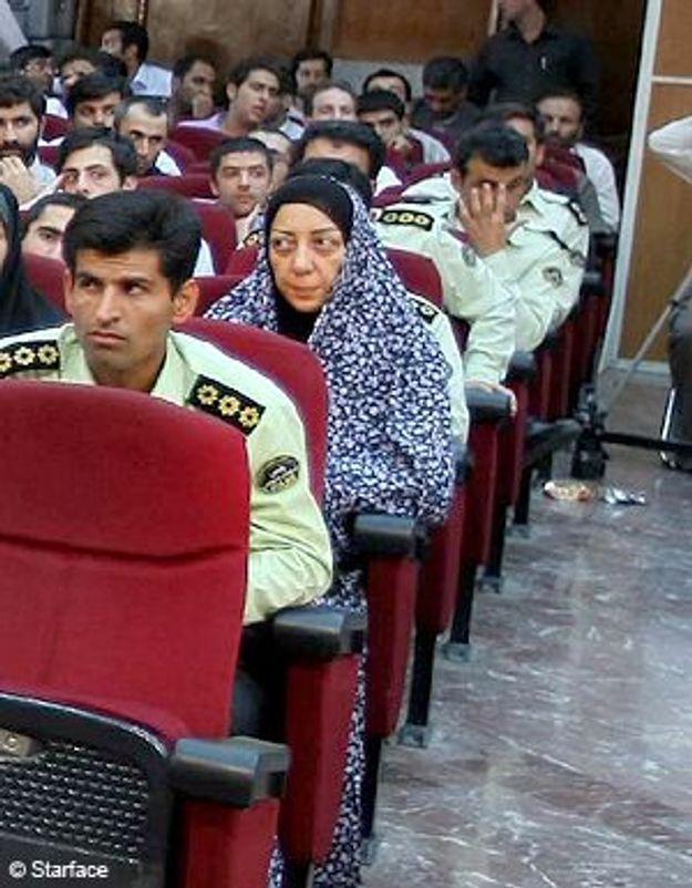 Nazak Afshar, détenue comme Clotilde Reiss, est sortie de prison
