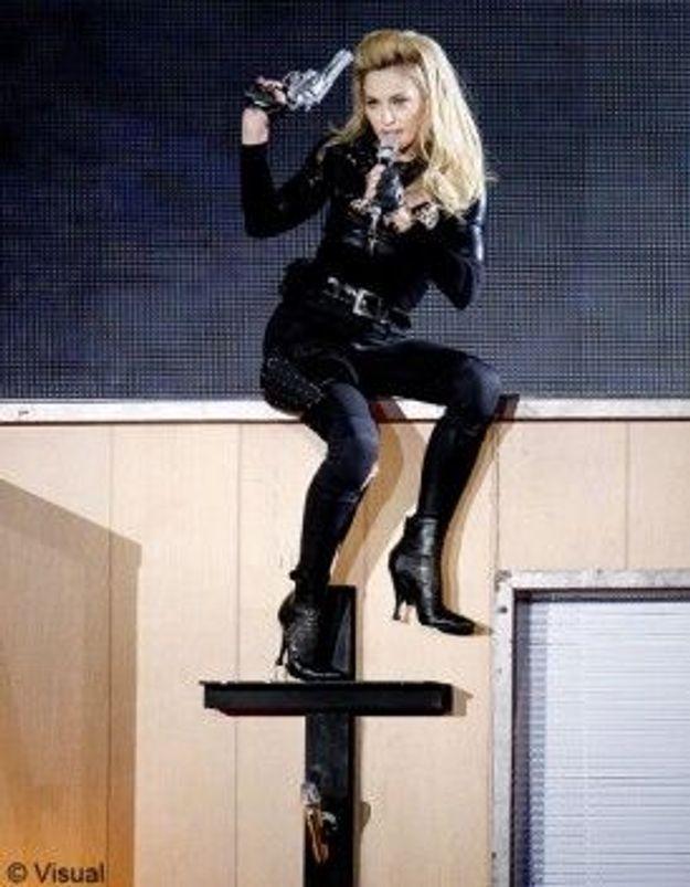 Nice : Le Front national recouvre les affiches de Madonna