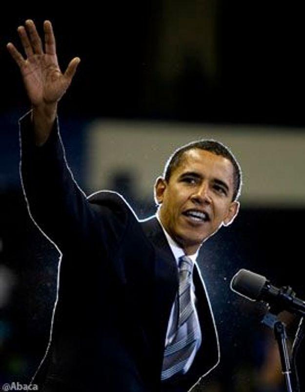 Obama arrête sa campagne pour sa grand-mère