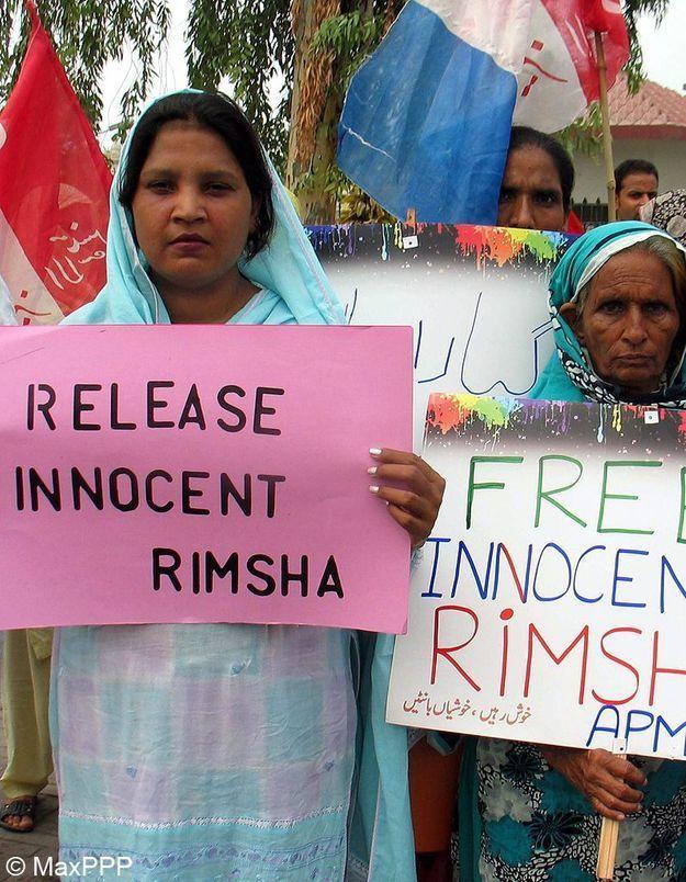 Pakistan : la petite Rimsha libérée sous caution